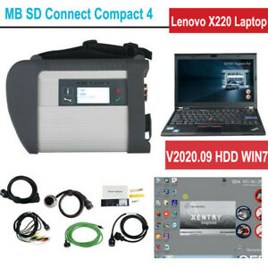V2020 06 Mb Sd Connect Compact 4 Star Obd2 Diagnosis With Software Hdd Xentry