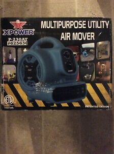 Xpower P 230at 1 5 Hp Mini Air Mover Portable Carpet Dryer Floor Fan Blower