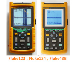 New Compatible Lcd Display Screen For Fluke 123 124 43b Fluke 123 124 125