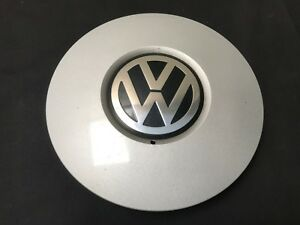 Vw Volkswagen Oem Wheel Center Cap Silver Finish 8 1 8 7d0 601 147 B