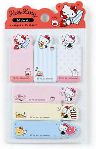 Hello Kitty Compact Sticky Note Set Limited Edition Made In Japan