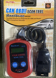 Autel Maxiscan Ms300 Obd2 Car Diagnostic Scan Tool Fault Code Reader Scanner Us