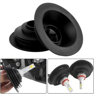 Universal Rubber Housing Seal Cap Anti Dust Cover For Car Led Bulb Hid Headlight