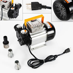 Electric Oil Diesel Fuel Transfer Pump Self Priming Pump 110v 550w Fast Shipping