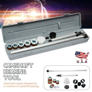 Universal Engine Camshaft Cam Bearing Installation Insert Removal Remove Tools