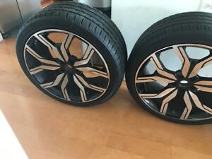 Aftermarket Land Rover Style 22 Used Wheels And Tires