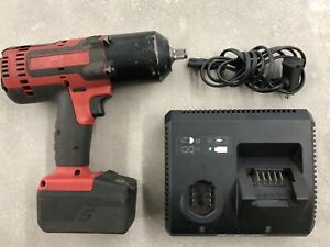 Snap on Ct8850 18v Lithium Cordless 1 2 Dr Impact Wrench W Battery