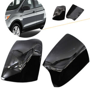 1 Pair Glossy Black Rearview Mirror Cover For Ford Focus 2005 2008 2006 2007 Us