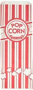 Urparty Paper Popcorn Bags 2 Oz Red White 200 Piece