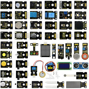 48 In 1 Electronics Components Sensor Modules Starter Kit For Arduino Diy Set
