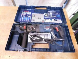 Bosch 1 Sds Plus Chuck Electric Rotary Hammer 120v Used 11255vsr