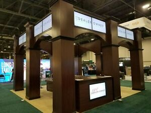 Custom Built 20 X 20 Trade Show Convention Booth
