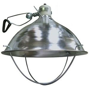 Deluxe Brooder Lamp Fixture With Clamp Chicken Coop Hen Chick Warmer Heat Light
