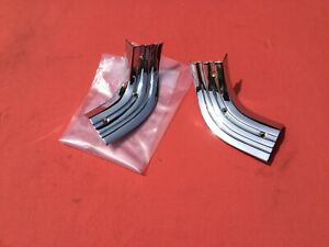 1957 1958 1959 Ford Ranchero Moulding Trim Rear Bed Corners Recrowned Show