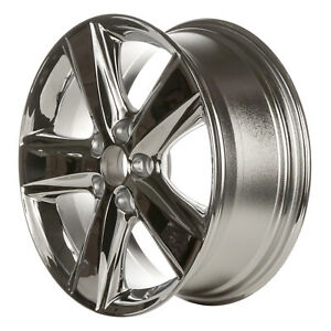 69566 Refinished Toyota Camry 2010 2011 17 Inch Wheel Rim Oe Chrome Plated