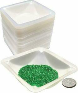 Cole parmer Medium Hexagonal Weigh Dish Medium 3 O d X 3 4 D 50 Ml Capacit