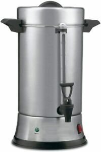 Superior Sup550 Commercial Stainless Steel 2 Heater System 55 Cup Coffee Urn