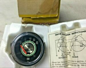 Nos 68 Shelby Oil Gauge Electric Stewart Warner 2 1 8 Rear Lit