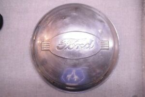 1942 Ford Hubcap Passenger Car 1946 Pickup Stainless Steel Hubcaps Single