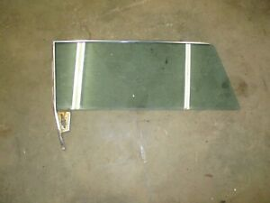 Chevrolet Impala Oem 1962 61 63 2 Door Hardtop Door Window Convertible Left