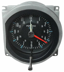 Restoparts In Dash Clock 1964 1967 Pontiac Gto Lemans Tempest Grand Prix