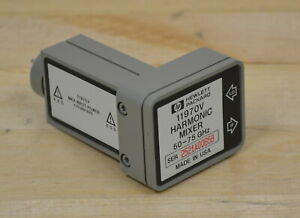 Hp Agilent 11970v Waveguide Harmonic Mixer Wr15 50 75ghz Guaranteed 2 Available