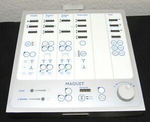 Maquet Hl 20 Control Display Panel rotaflow Getinge Heart Lung Machine