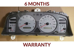 98 02 Toyota Corolla Instrument Cluster Speedometer With Tachometer white Color