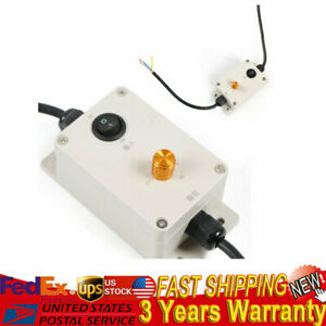 110v Ac Vibration Motor Governor Variable Adjusted Speed Controller W Switch