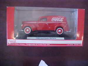 Coca-Cola 1940 Ford Sedan Delivery Van Die-Cast by Motorcity Classics NIB