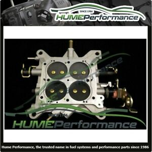 New Holley 850 Cfm Base Plate 4781 Throttle Body 850 Cfm Complete
