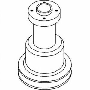 Water Pump Pulley Compatible With Massey Ferguson 510 Oliver 1850 3061345n