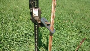new Heavy Duty Steel T Post Puller Use With Jack Or Loader Made In Usa