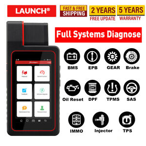 Launch X431 Diagun V Obd2 Scanner Auto Car Full Systems Scan Diagnostic Tool