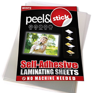 Pack Of 24 Self adhesive Laminating Sheets Clear Letter Size 9 X 12 Inches 4