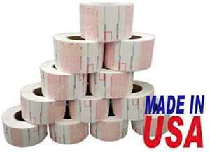 Cas 8040 Scale Label Printing Scale Label 12 Rolls made In Usa 8040