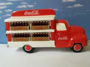 DEPT 56 Snow Village COCA-COLA DELIVERY TRUCK!  Coke  Soda  Bottling  Perfect