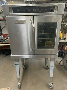 Royal Commercial Restaurant Full Size Oven Works Great Reco 1