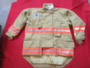 N o s 50 X 32 Morning Pride Fire Fighter Turnout Drd Jacket Bunker Gear Rescue