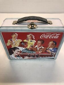 Coca-Cola Collectables Vintage Style refreshing new feeling The Tin Lunch Box