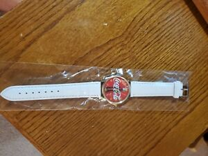 Coca Cola watch with vintage coke bottle face White Band