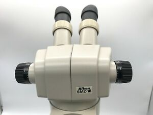 Nikon Smz1b Stereozoom Microscope 8 35x 10x Eyepieces New Led Ring light
