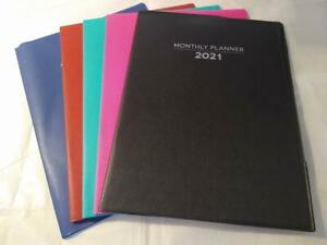 2021 2022 Monthly Planner Organizer Size 10 25 X 7 5 Pick Your Color
