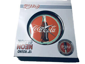Coca-Cola Clock Sign Red Neon Clock  Room Wall Decor Light Up New