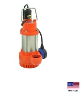 Submersible Sump Pump Commercial Residential 1 2 Hp 115v 4 080 Gph