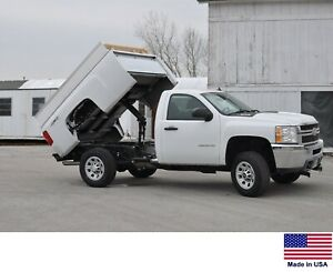 Pickup Bed Dump Kit 1999 2017 Chevy Gmc Pickups W 8 Ft Beds Power Gravity