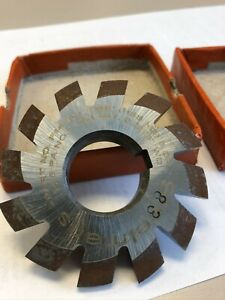 Involute Gear Cutter 8dp 14 5 pa 3