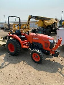2018 Kubota L3301 Tractor 4wd Only 280 Hours