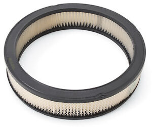 Edelbrock 1217 Air Filter White