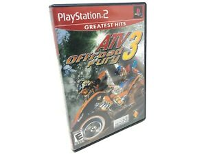 ATV Offroad Fury 3 Greatest Hits PS2 Playstation 2 Complete